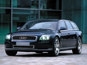 Ver foto 1 de Audi Avantissimo Concept 2001