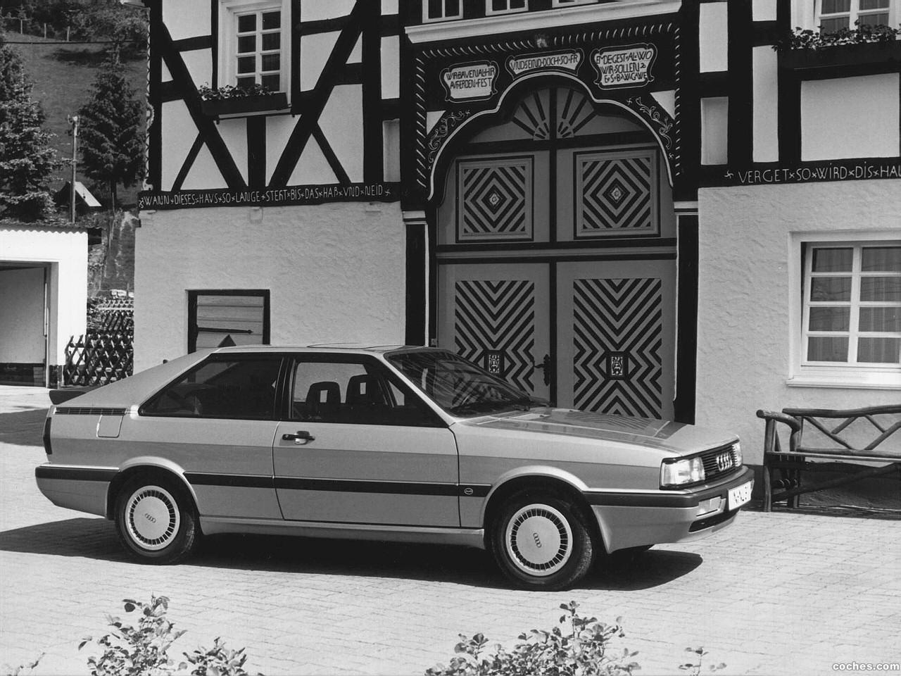 Foto 0 de Audi Coupe Quattro 1984