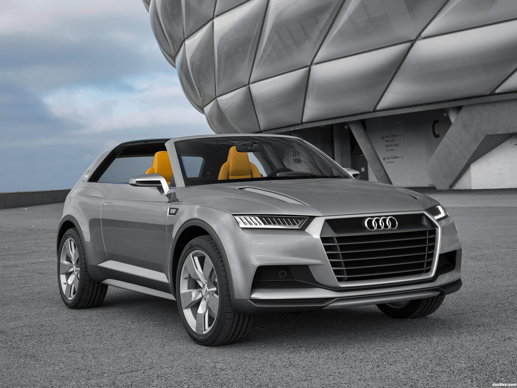 Foto 0 de Audi Crosslane Coupe Concept 2012