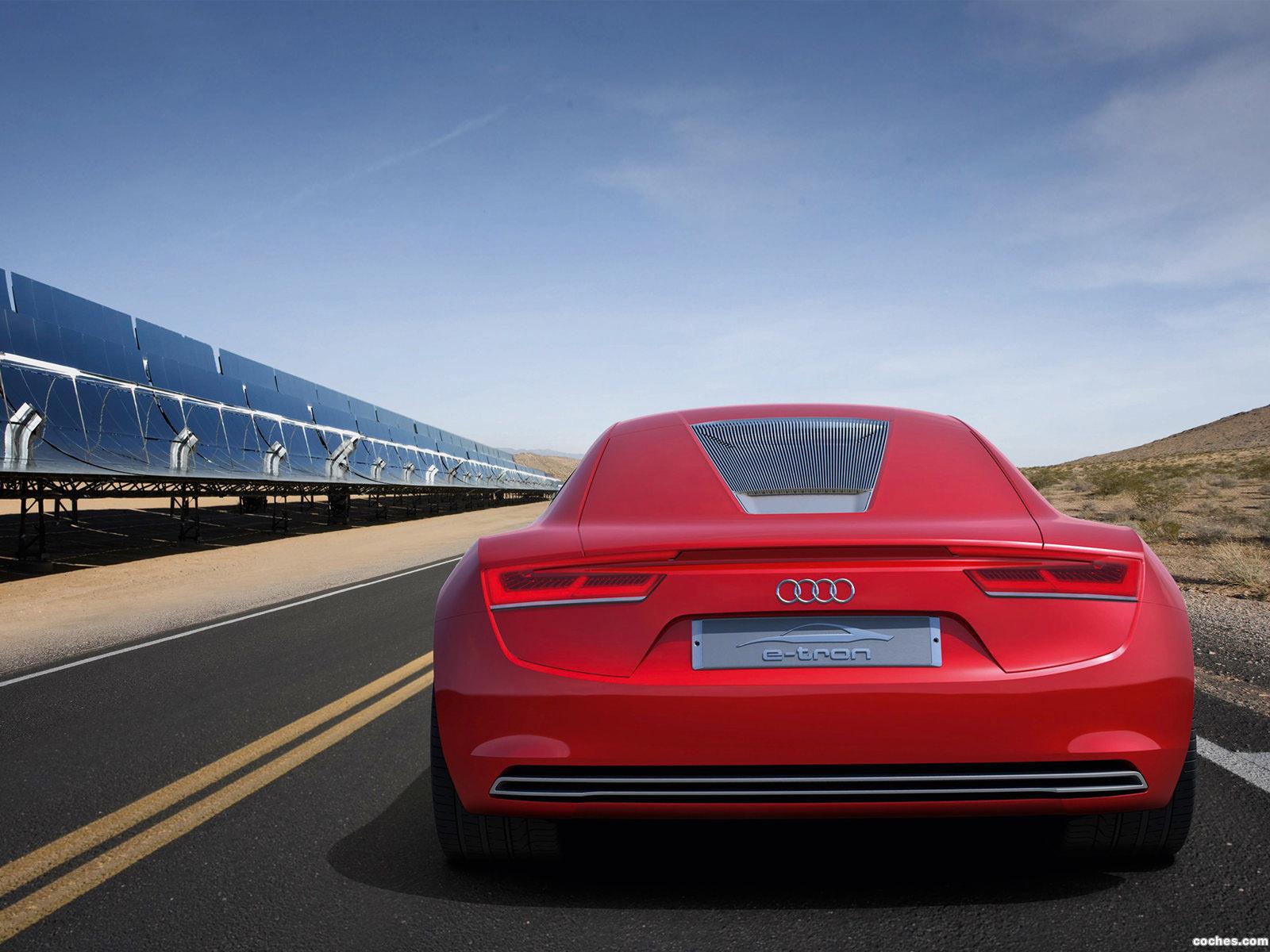 Foto 15 de Audi E-Tron Concept 2009