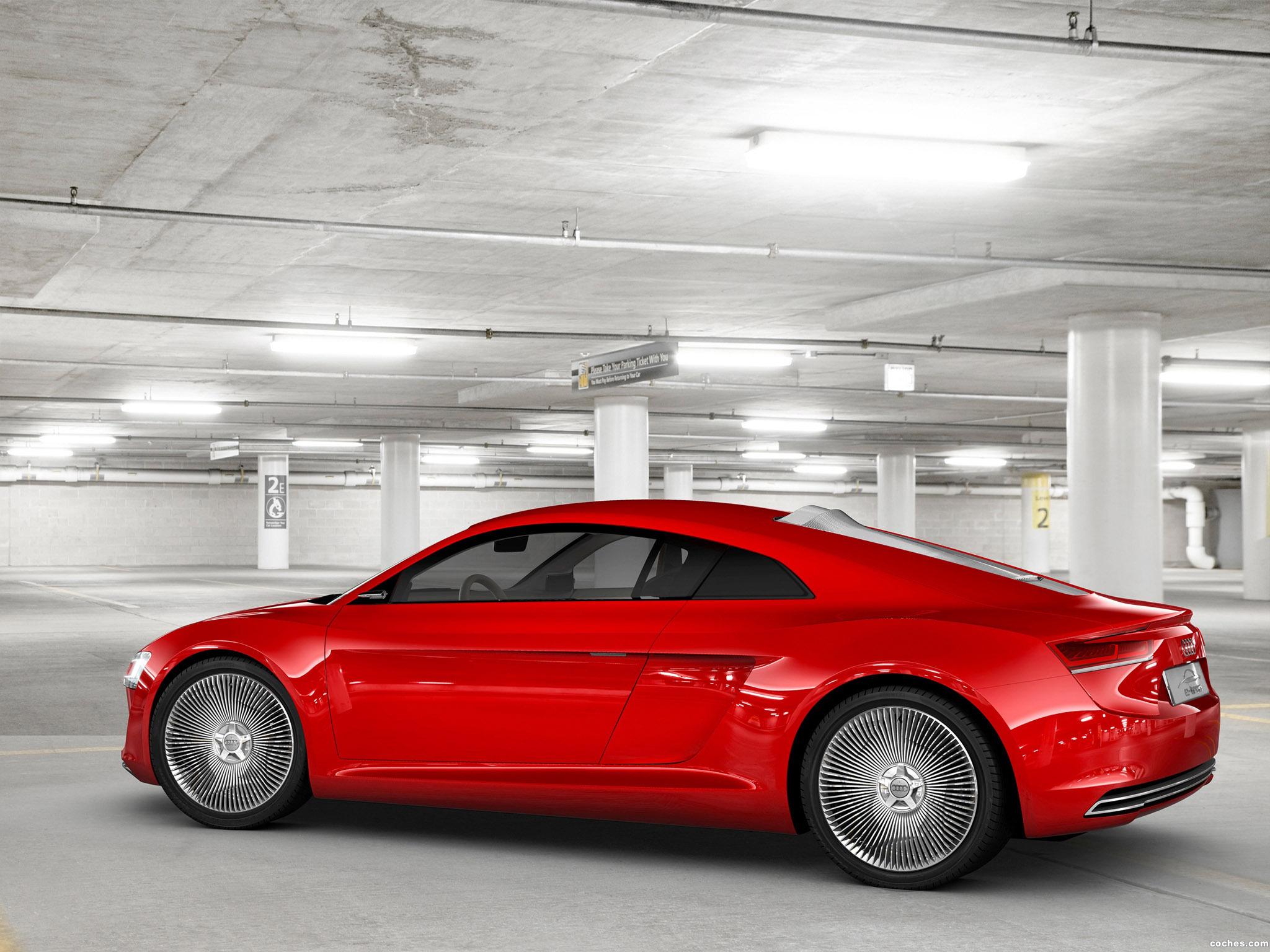 Foto 14 de Audi E-Tron Concept 2009