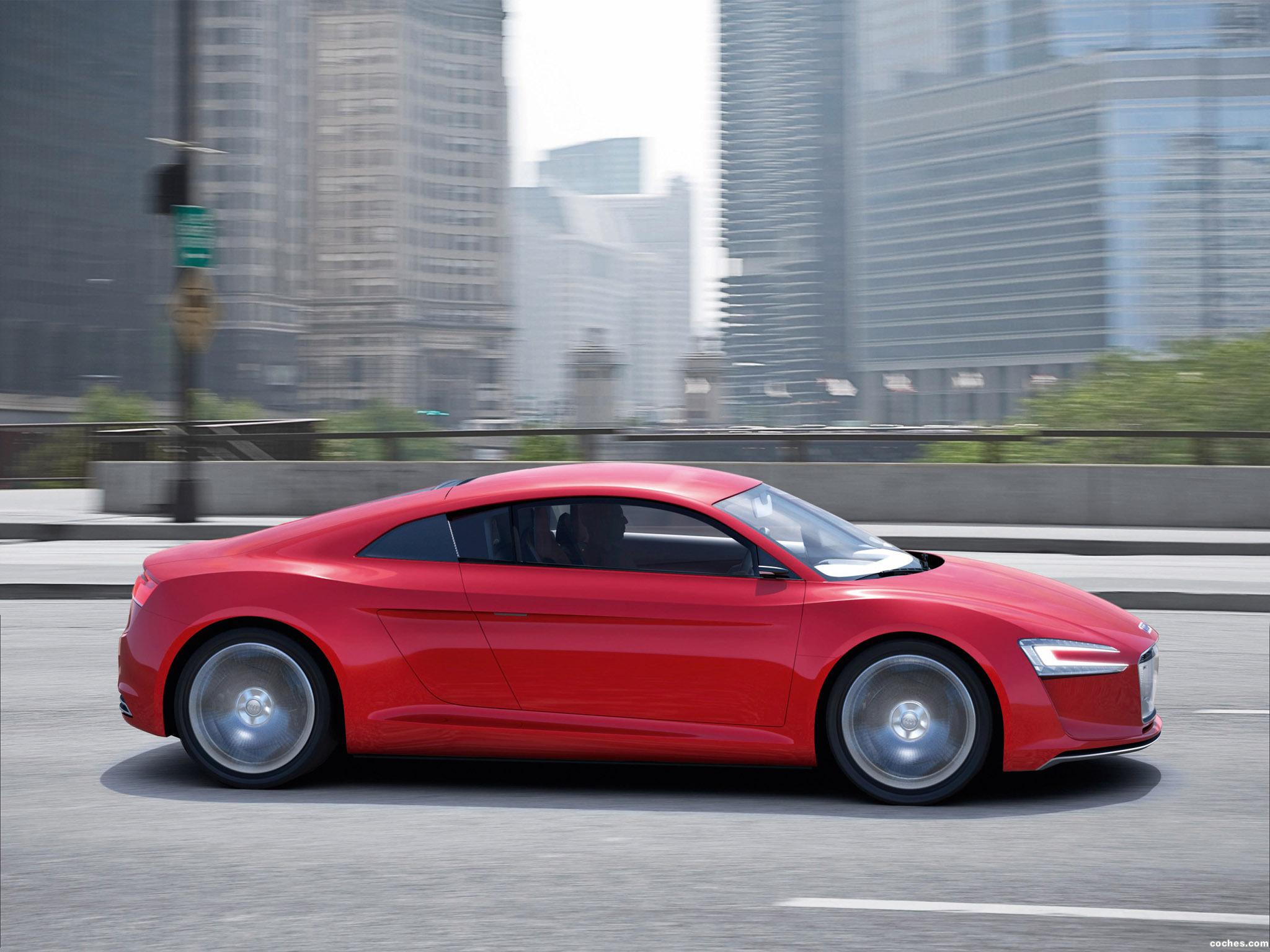 Foto 6 de Audi E-Tron Concept 2009