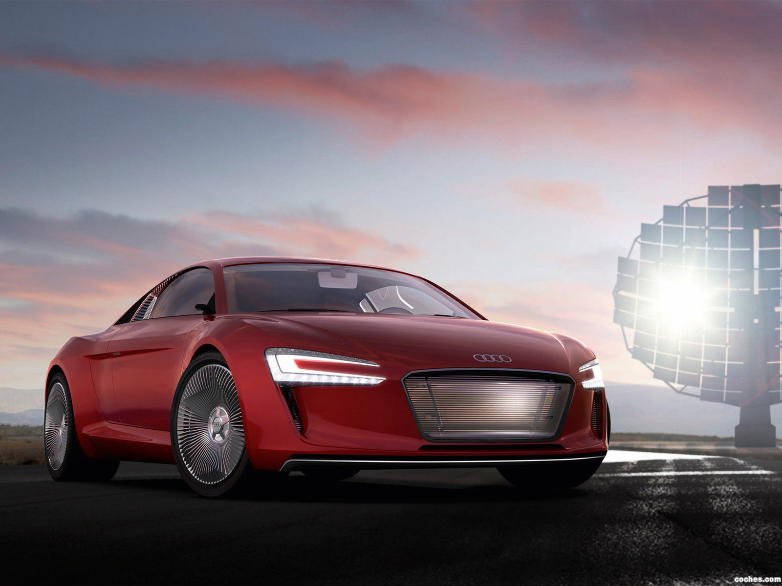 Foto 1 de Audi E-Tron Concept 2009