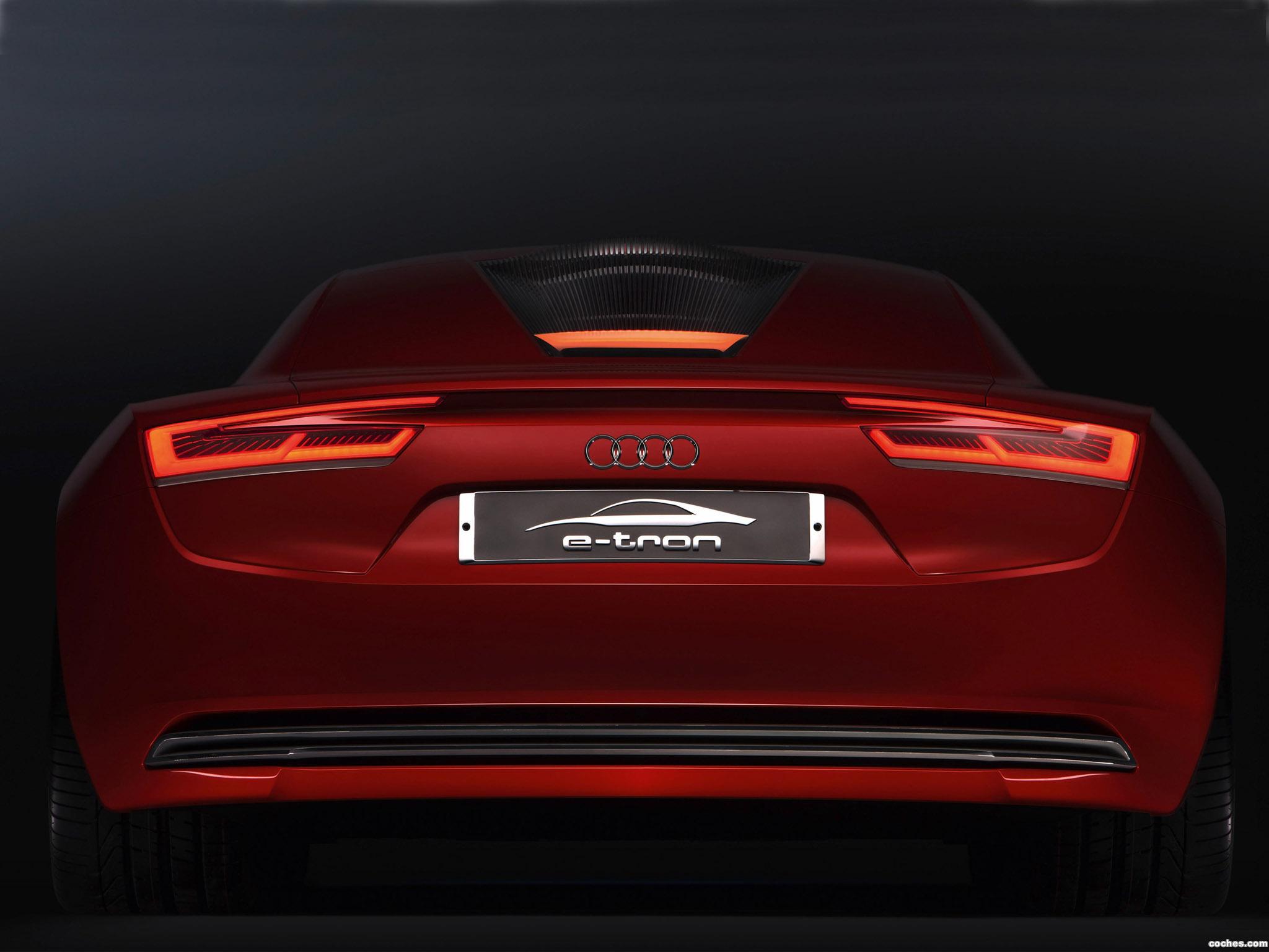 Foto 29 de Audi E-Tron Concept 2009