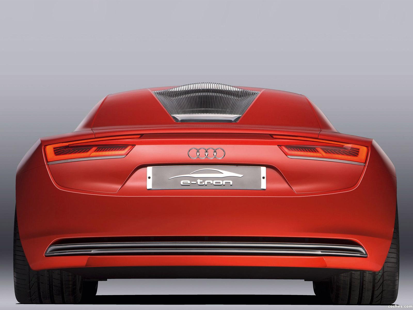 Foto 28 de Audi E-Tron Concept 2009