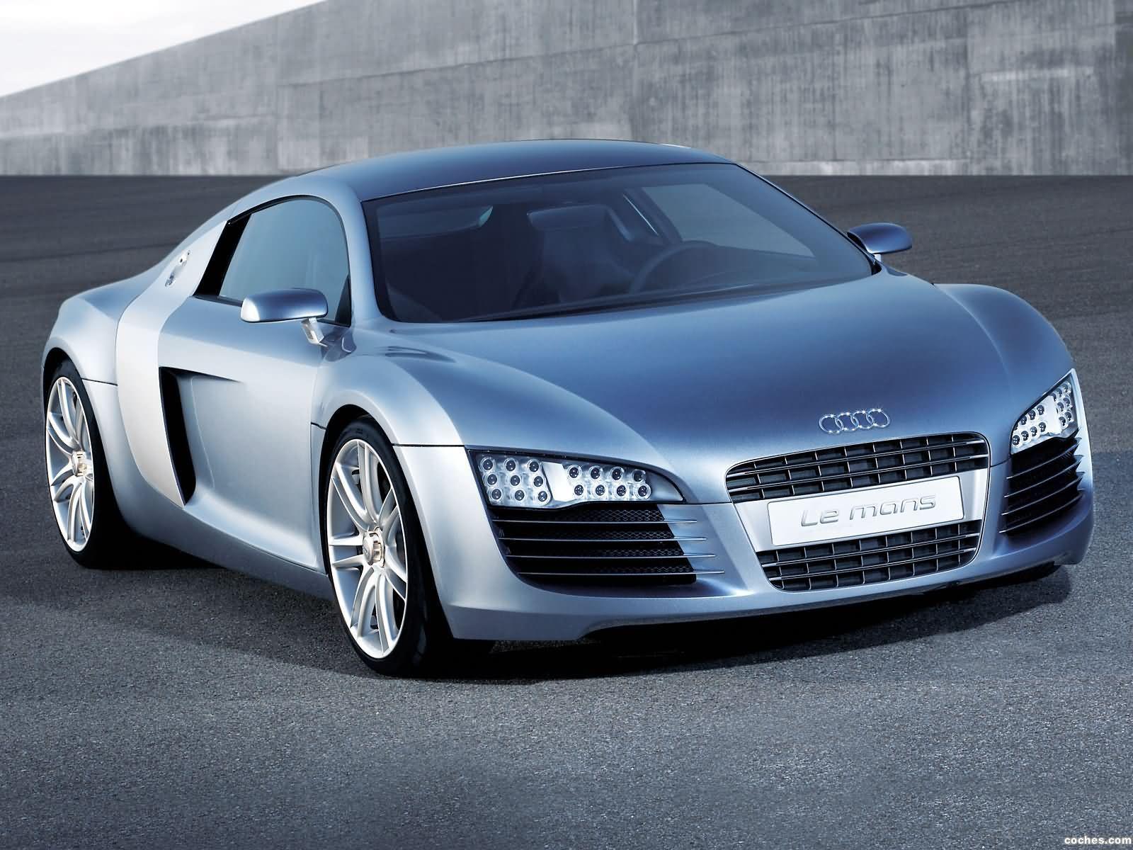 Foto 0 de Audi Le Mans Concept 2003