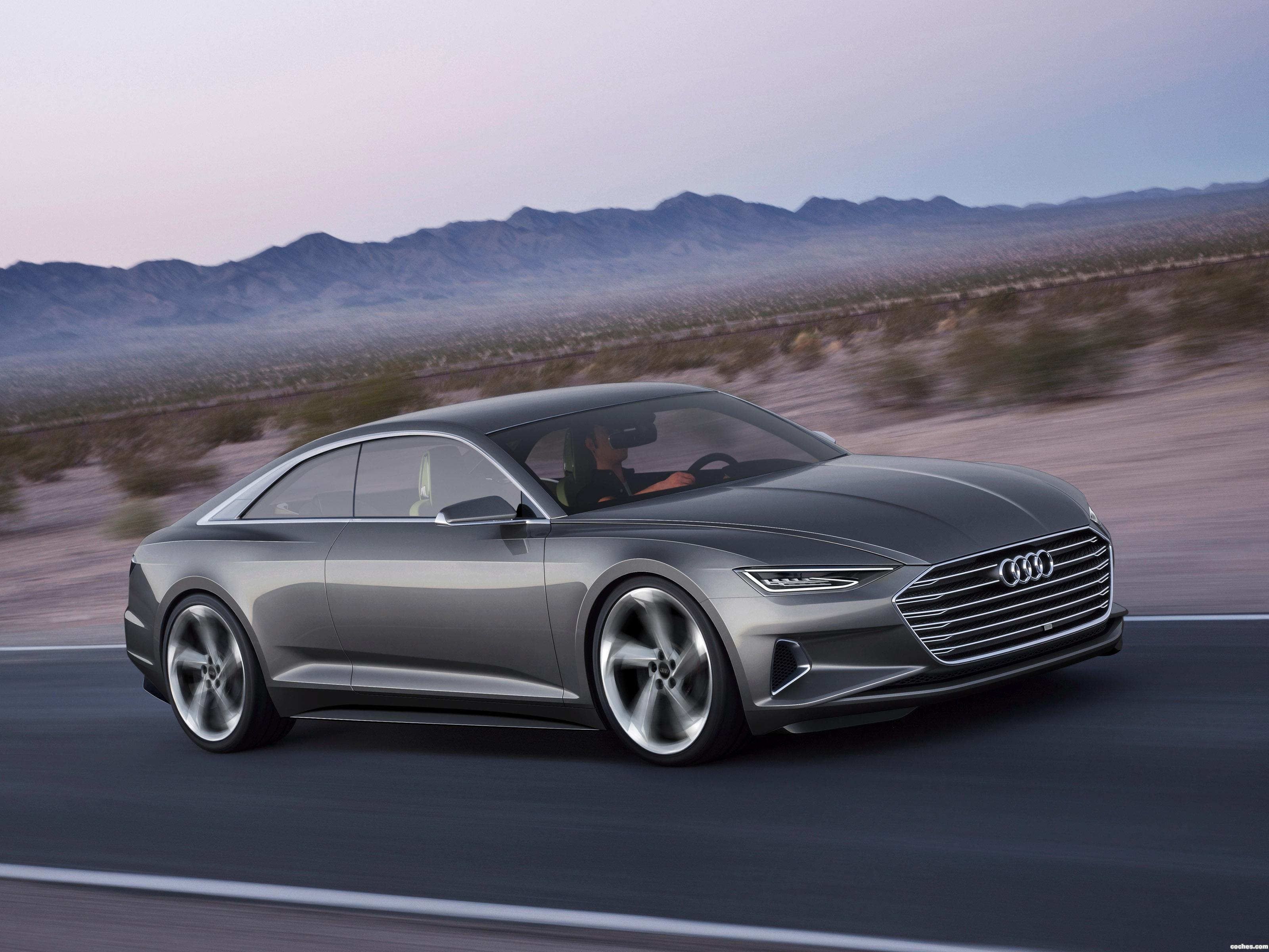 Foto 0 de Audi Prologue Piloted Driving 2015