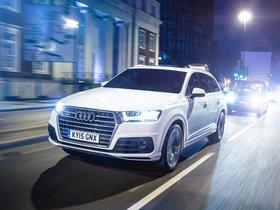 Fotos de Audi Q7 TDI Quattro S-Line UK 2015