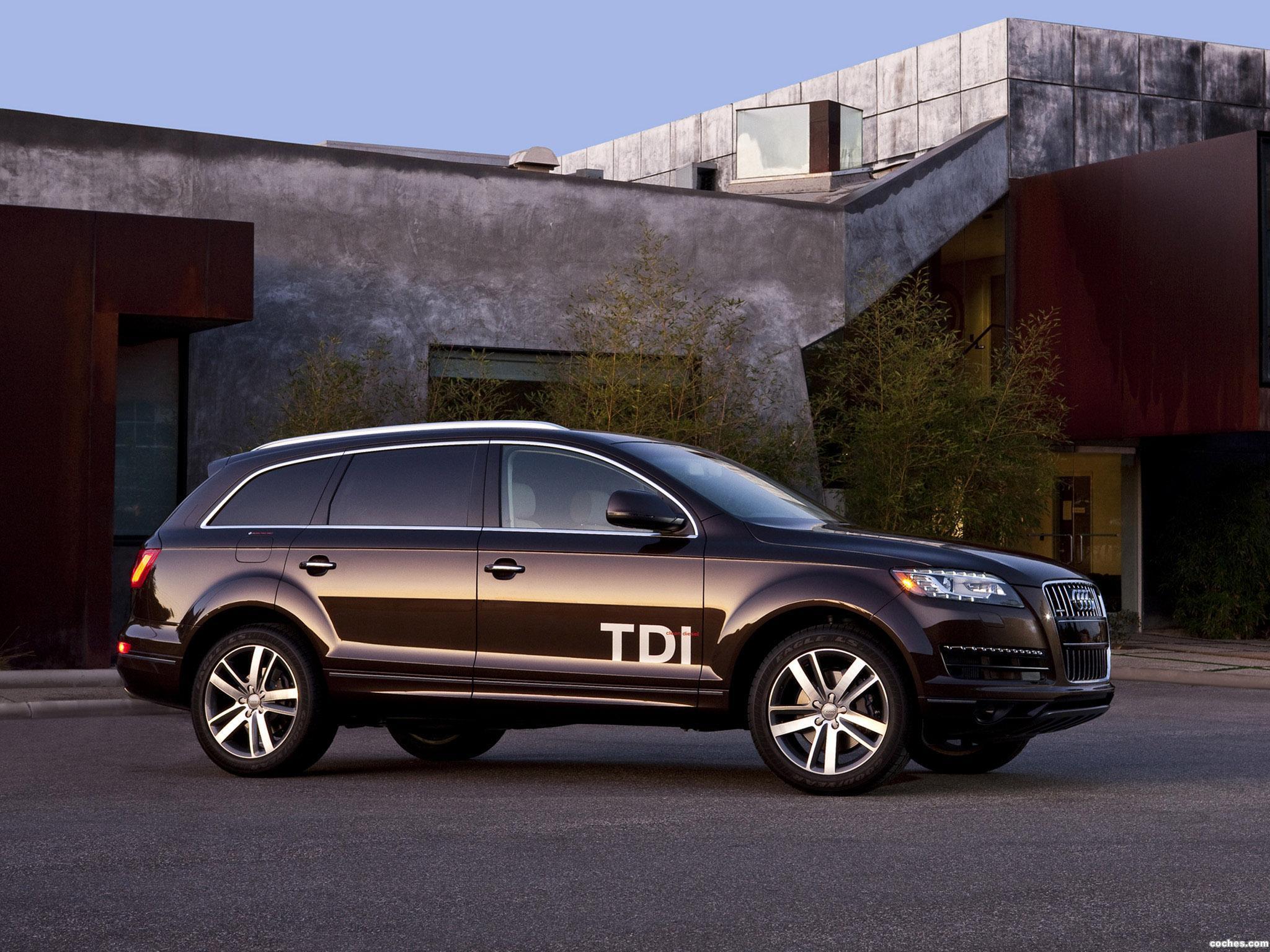 Foto 0 de Audi Q7 TDi Clean Diesel Quattro USA 2010
