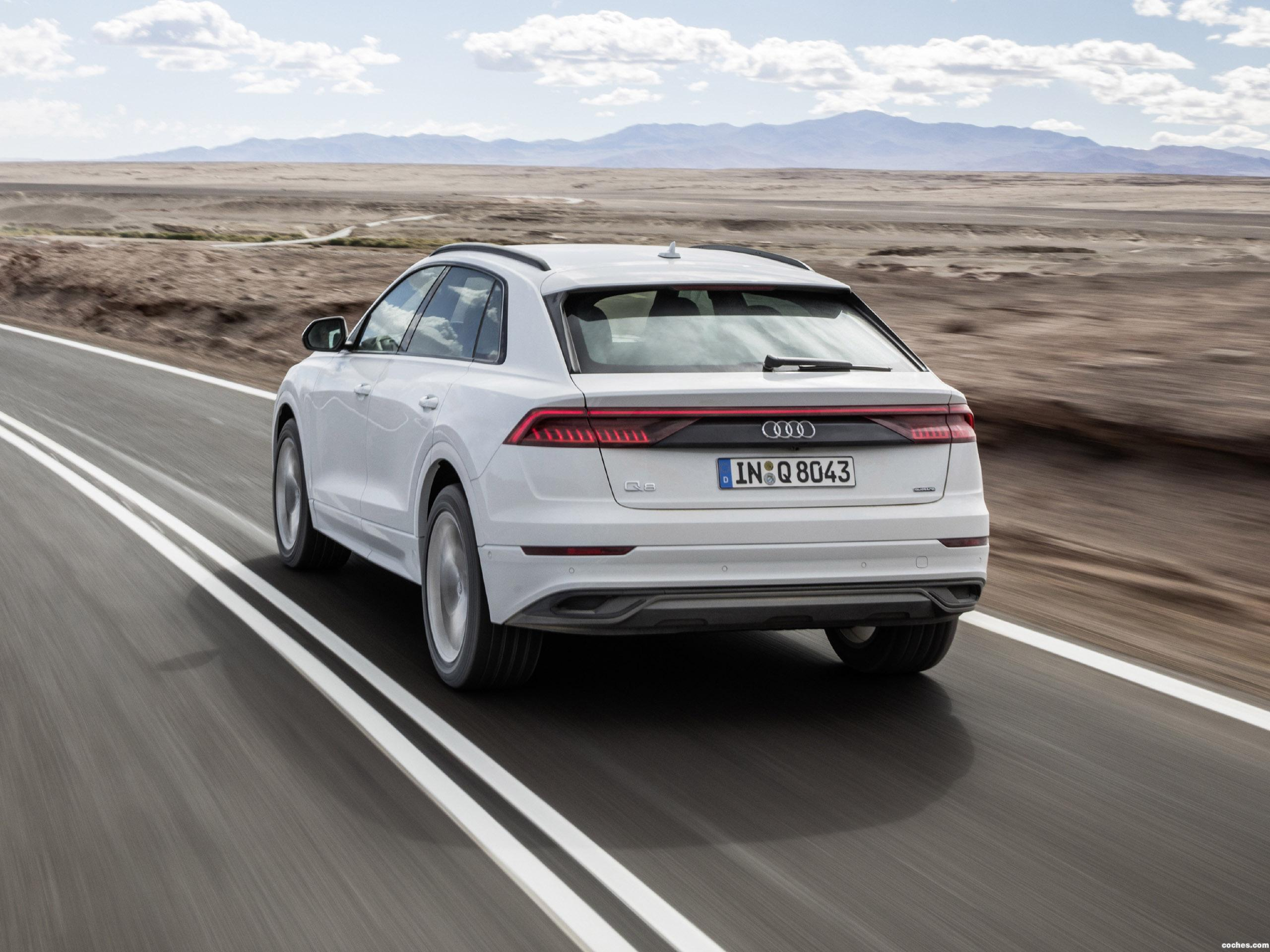 Foto 6 de Audi Q8 55 TFSI Quattro 2018
