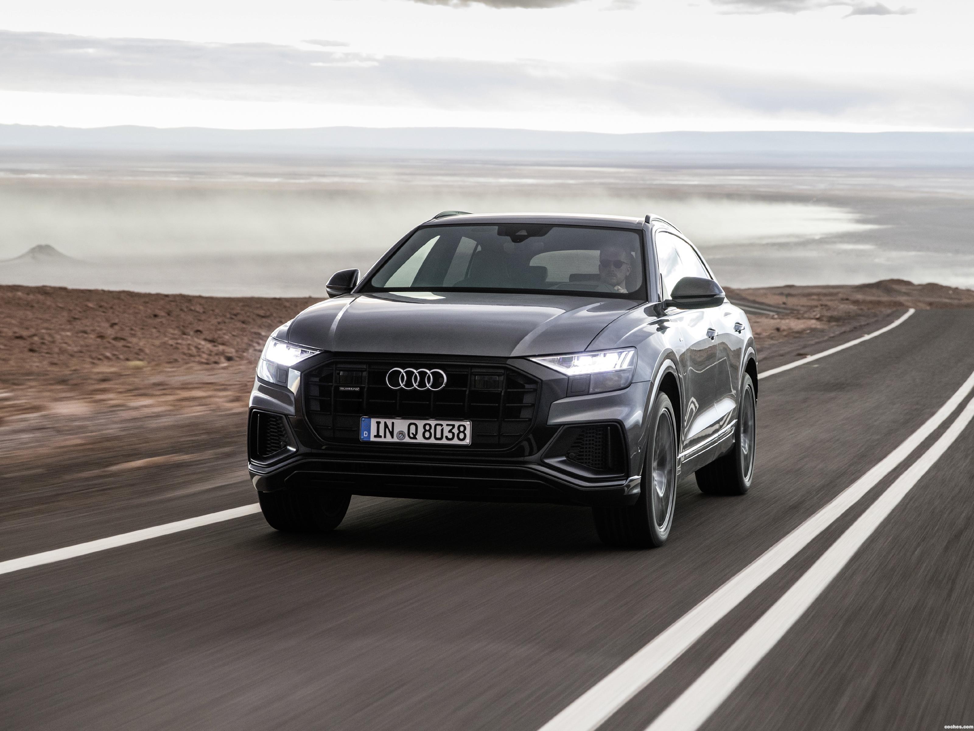 Foto 0 de Audi Q8 55 TFSI Quattro S Line 2018