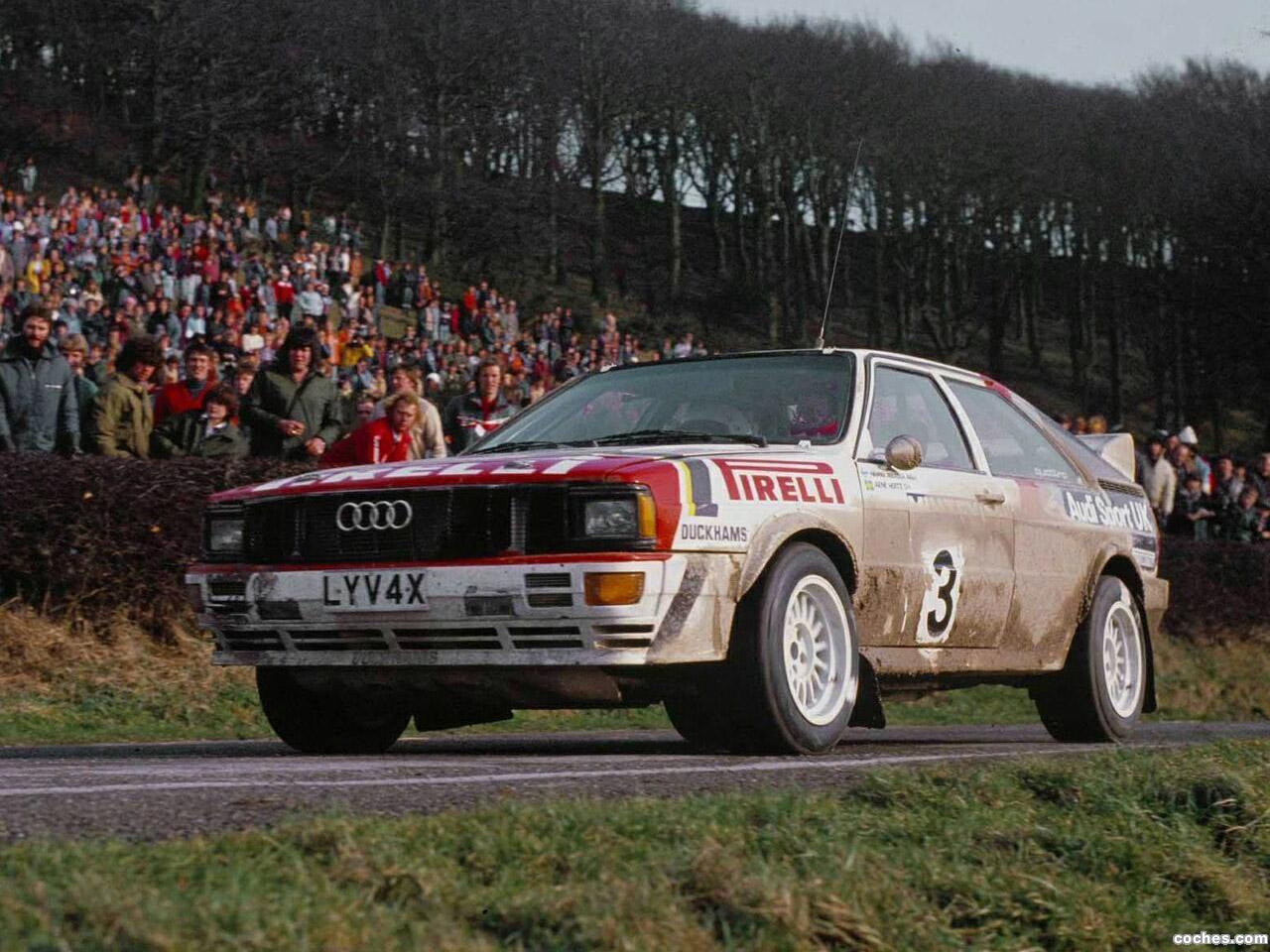 Foto 0 de Audi Quattro Group 4 Rally Car 1981
