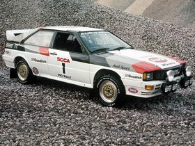 Ver foto 7 de Audi Quattro Group 4 Rally Car 1981