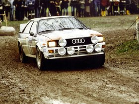 Ver foto 4 de Audi Quattro Group 4 Rally Car 1981
