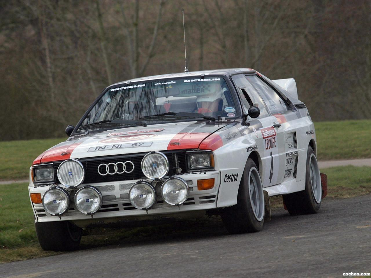 Foto 0 de Audi Quattro Group B Rally Car 1983