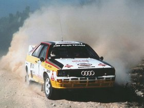 Ver foto 10 de Audi Quattro Group B Rally Car 1983
