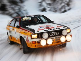 Ver foto 12 de Audi Quattro Group B Rally Car 1983