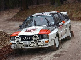 Ver foto 8 de Audi Quattro Group B Rally Car 1983