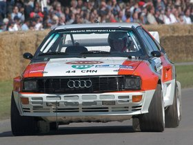 Ver foto 4 de Audi Quattro Group B Rally Car 1983