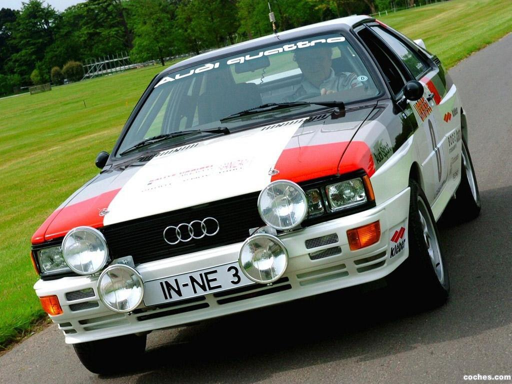 Foto 0 de Audi Quattro Rally Car 1980