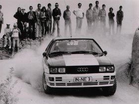 Ver foto 2 de Audi Quattro Rally Car 1980