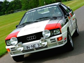 Ver foto 1 de Audi Quattro Rally Car 1980