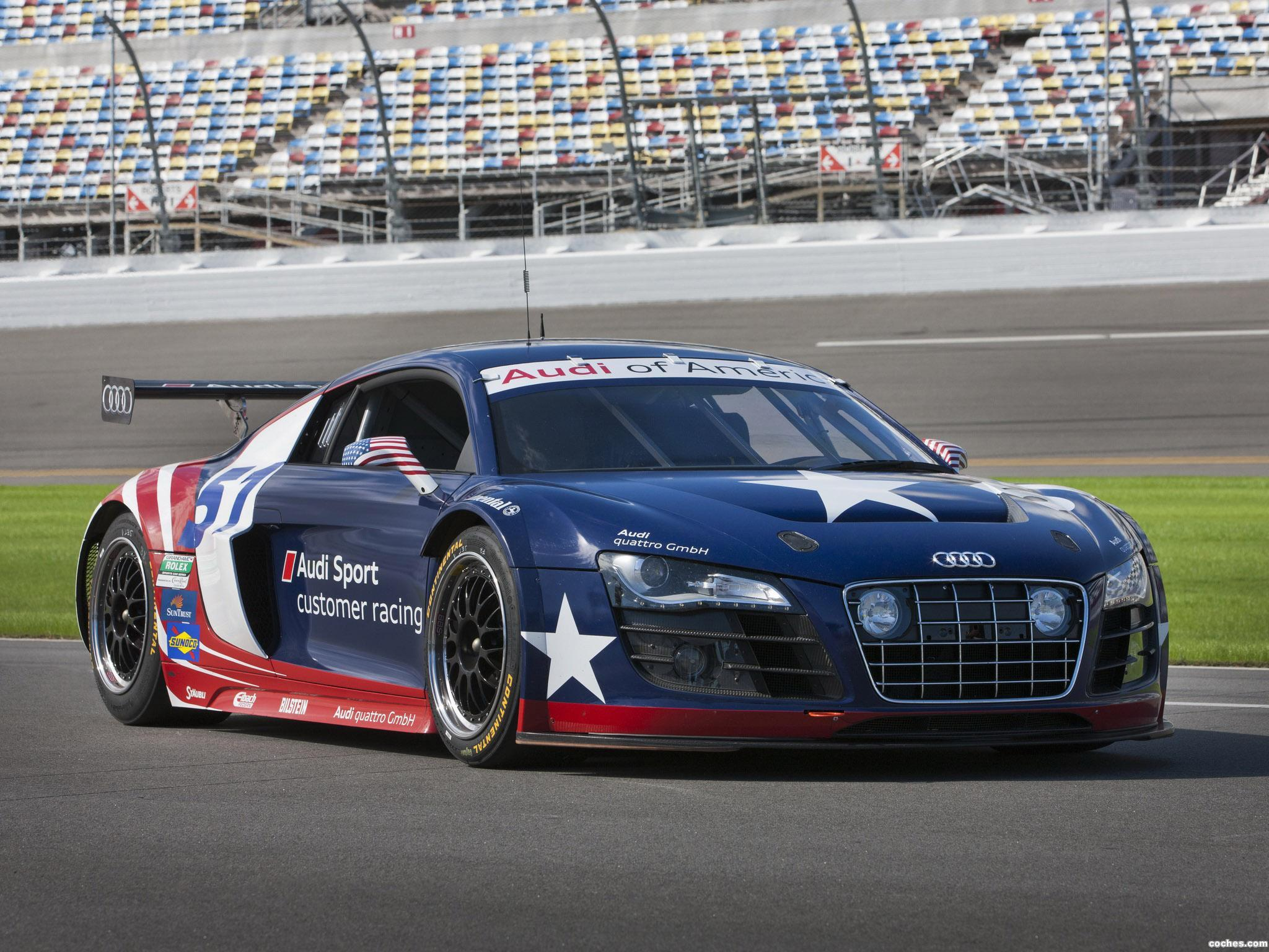 Foto 0 de Audi R8 Grand-Am Daytona 24 Hours 2012