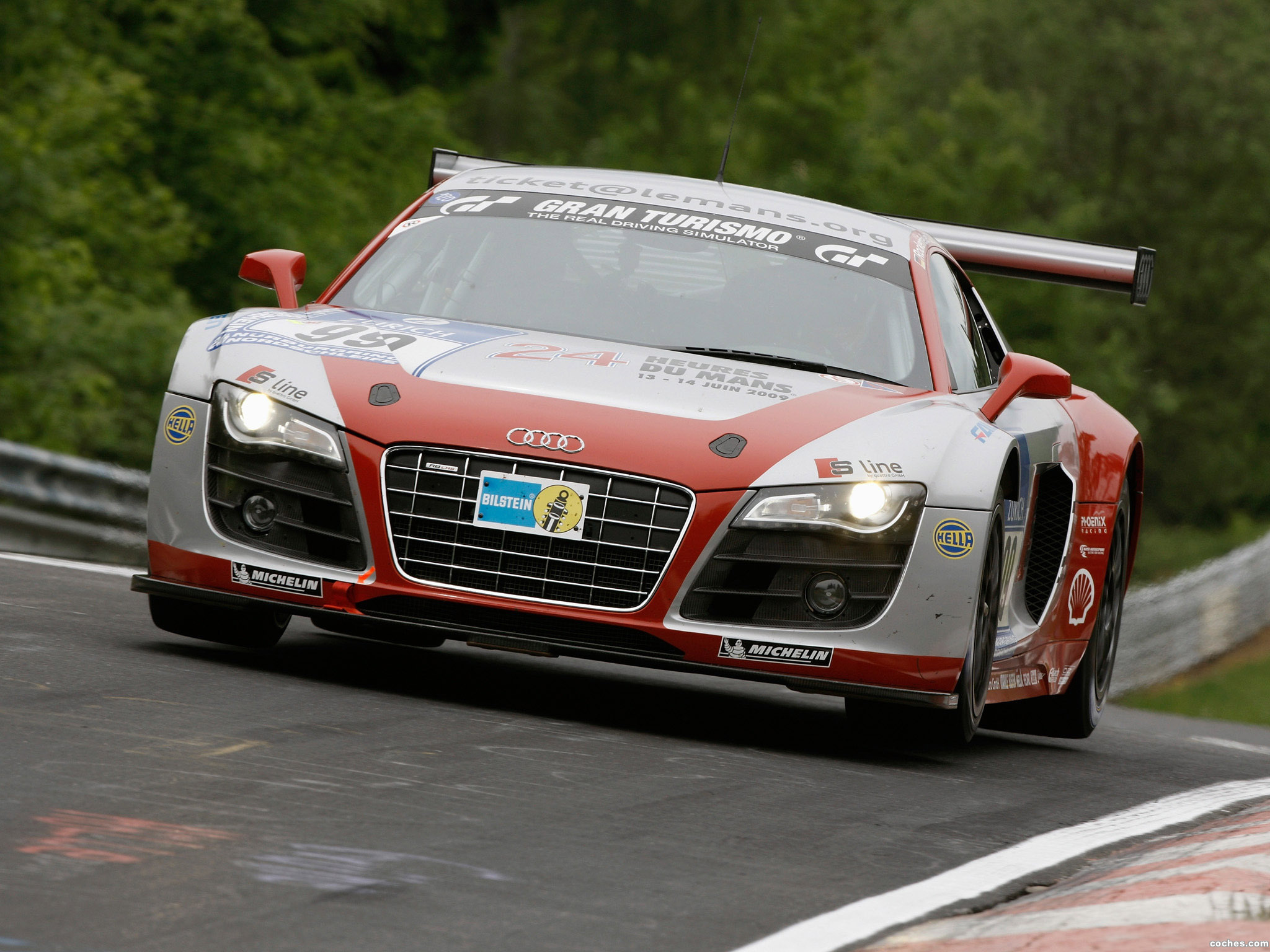 Foto 0 de Audi R8 LMS 2009