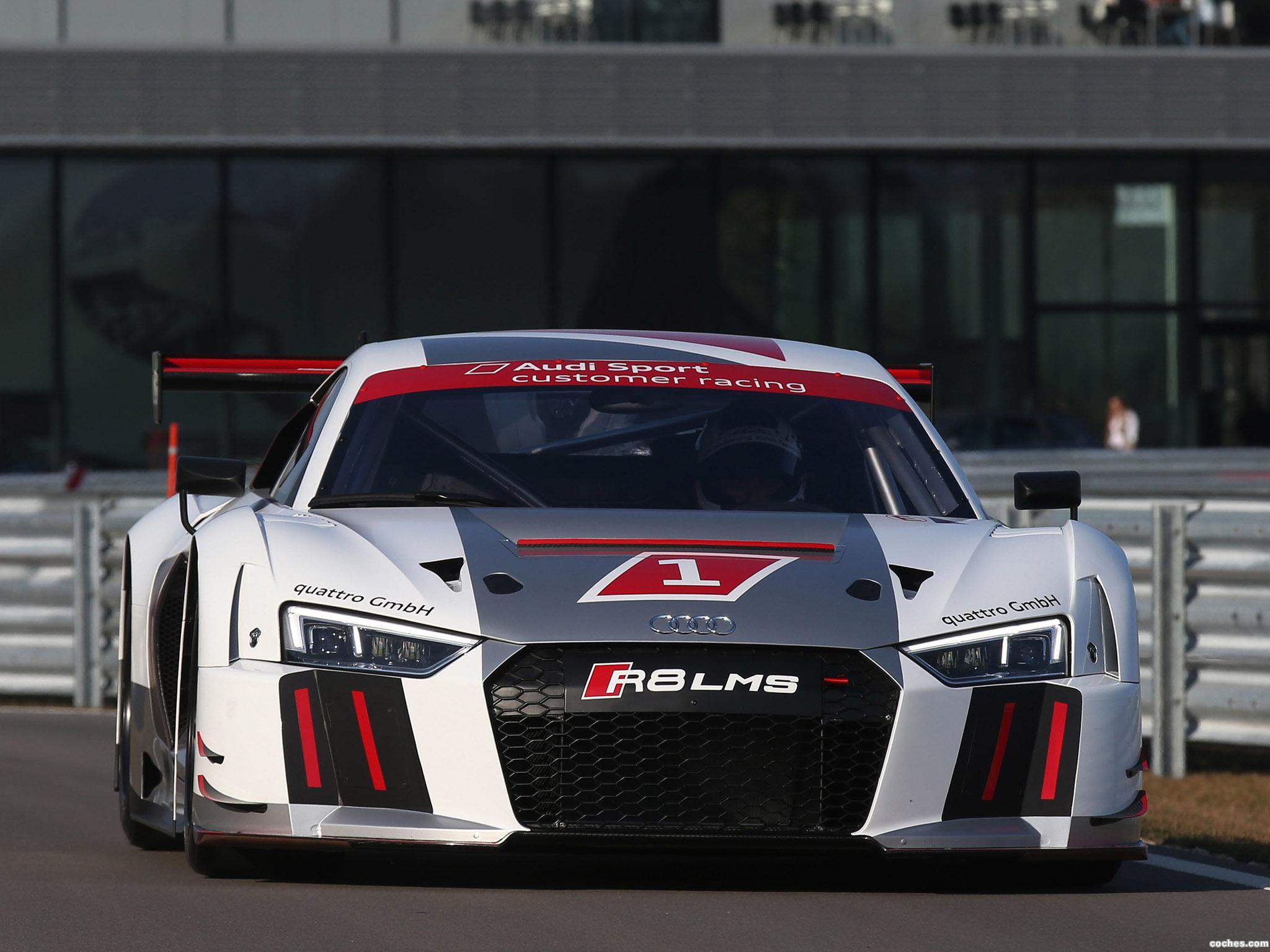 Foto 1 de Audi R8 LMS 2015