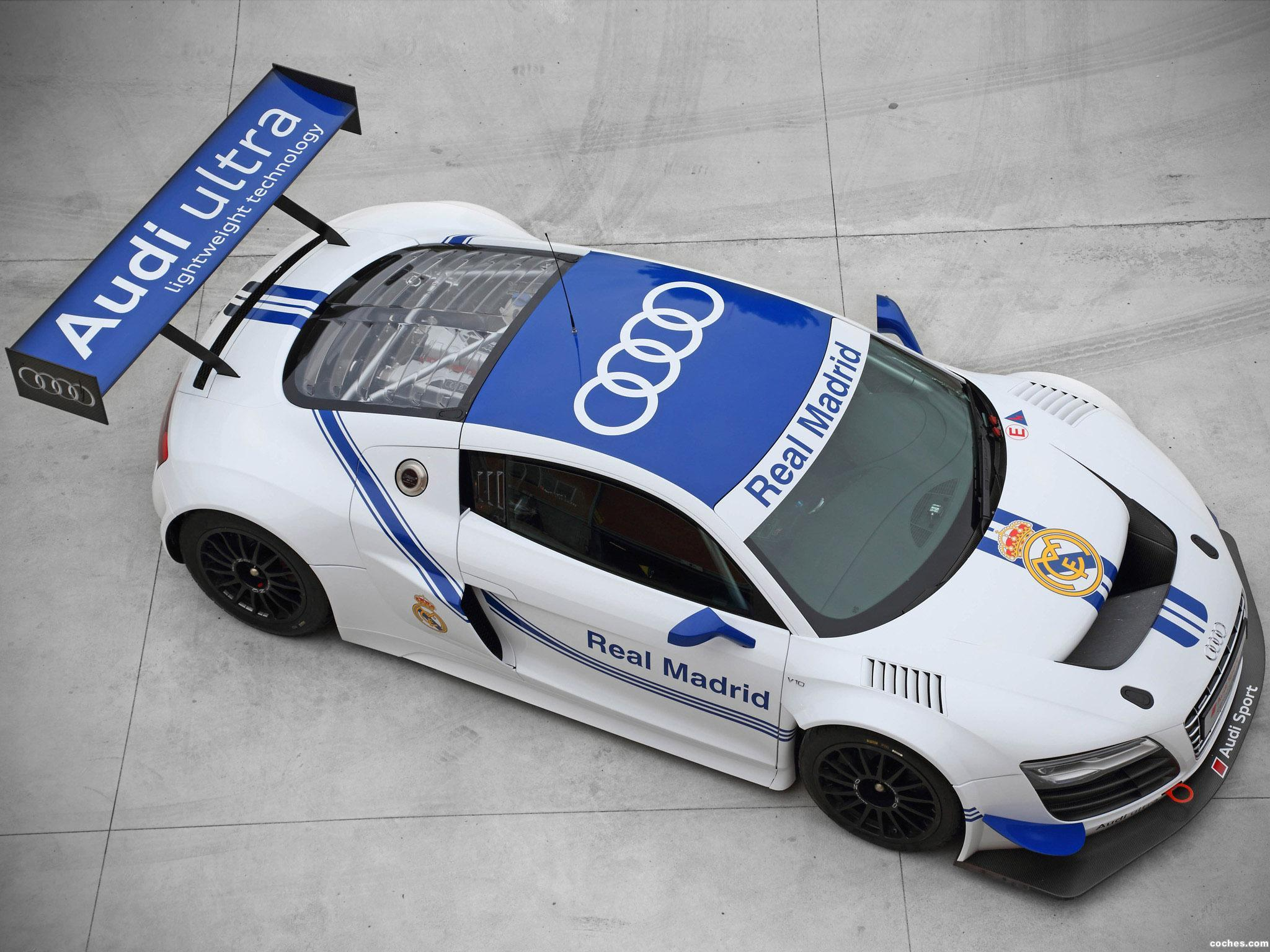 Foto 5 de Audi R8 LMS Ultra Real Madrid 2012