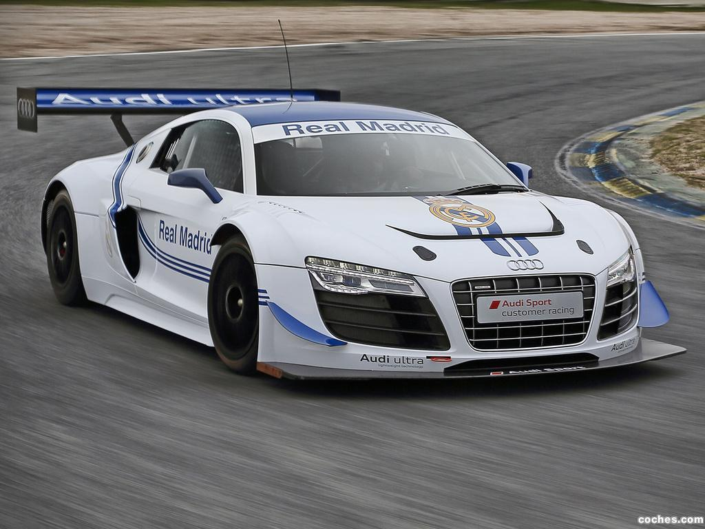 Foto 2 de Audi R8 LMS Ultra Real Madrid 2012