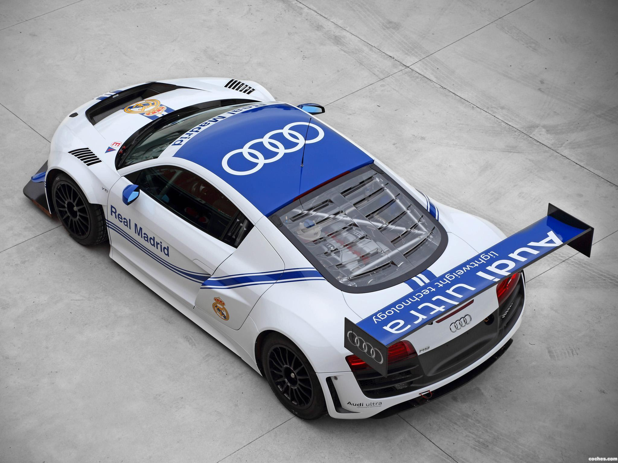 Foto 1 de Audi R8 LMS Ultra Real Madrid 2012