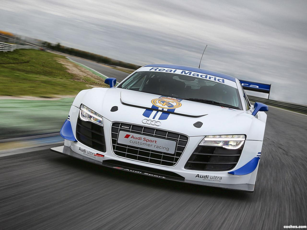 Foto 0 de Audi R8 LMS Ultra Real Madrid 2012