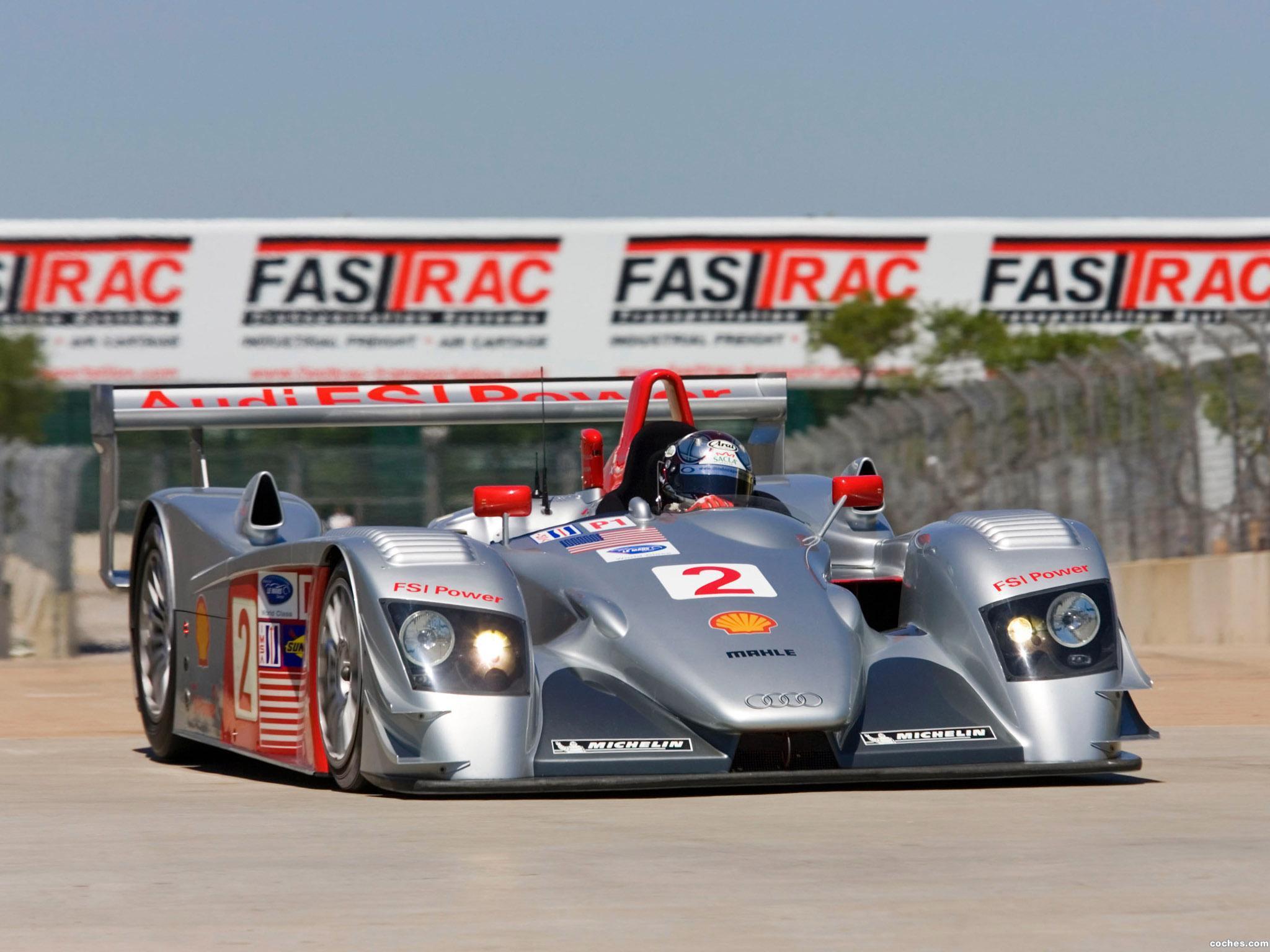 Foto 0 de Audi R8 Race Car 2000