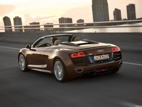 Ver foto 4 de Audi R8 Spyder 2010