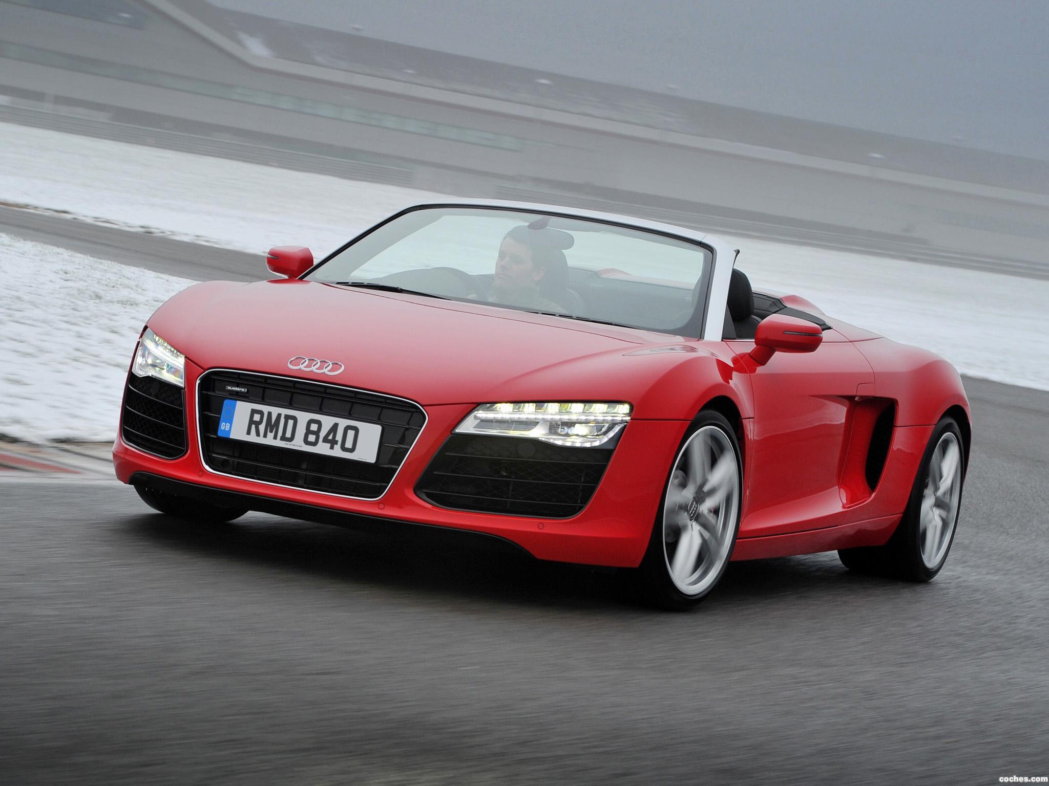 Foto 0 de Audi R8 Spyder UK 2013