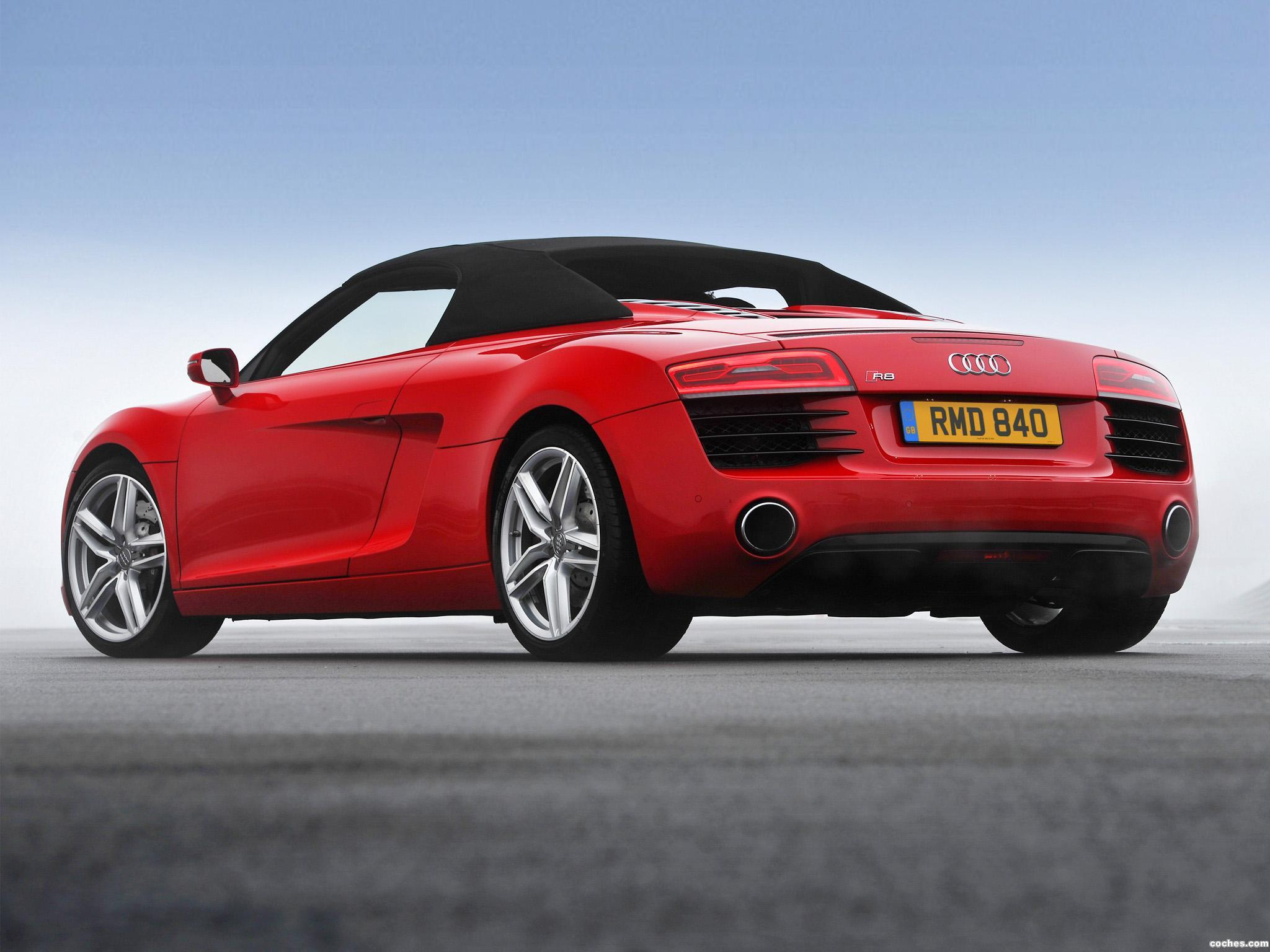 Foto 6 de Audi R8 Spyder UK 2013