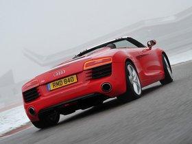 Ver foto 3 de Audi R8 Spyder UK 2013