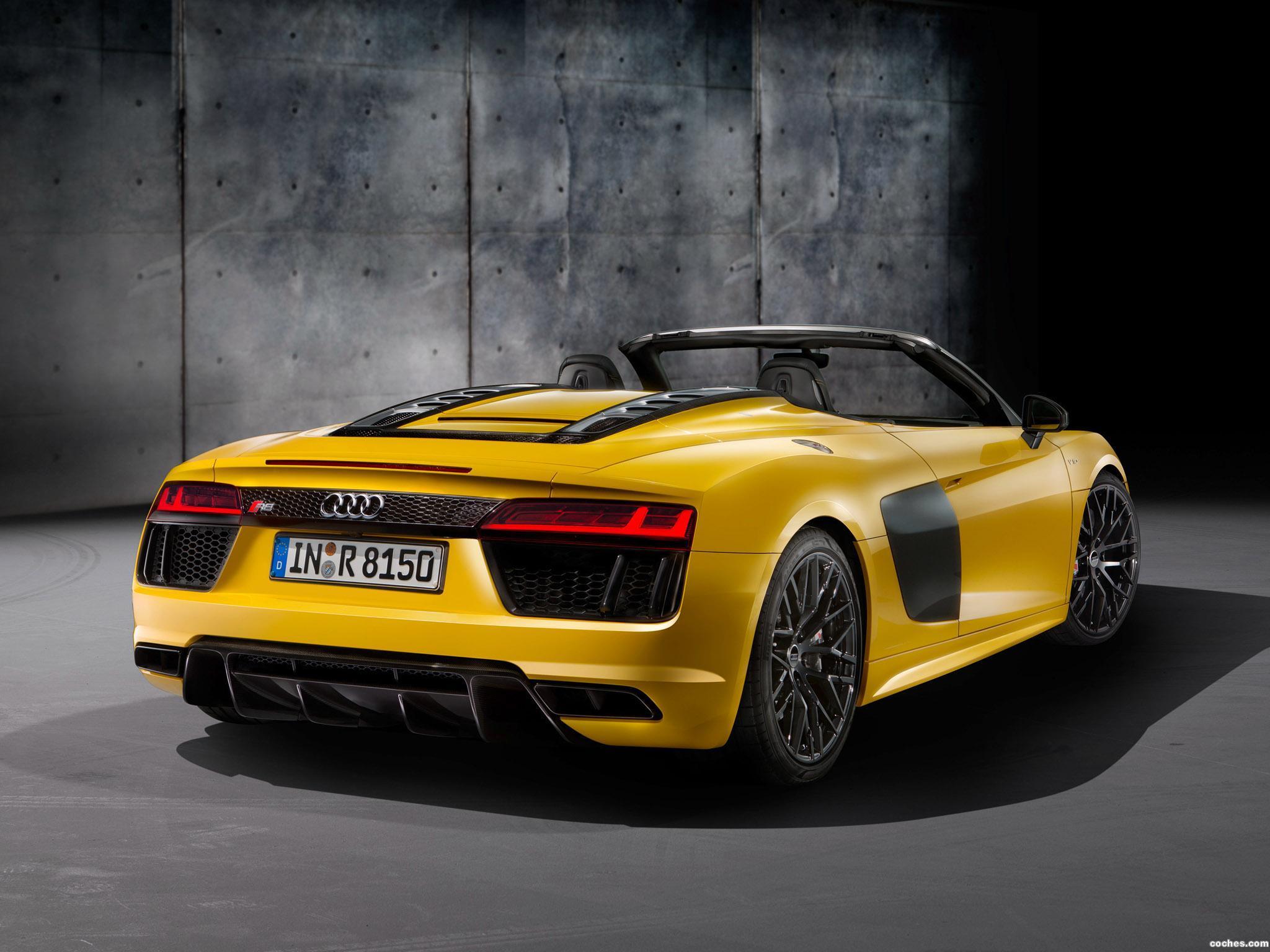 Foto 22 de Audi R8 Spyder V10 2016