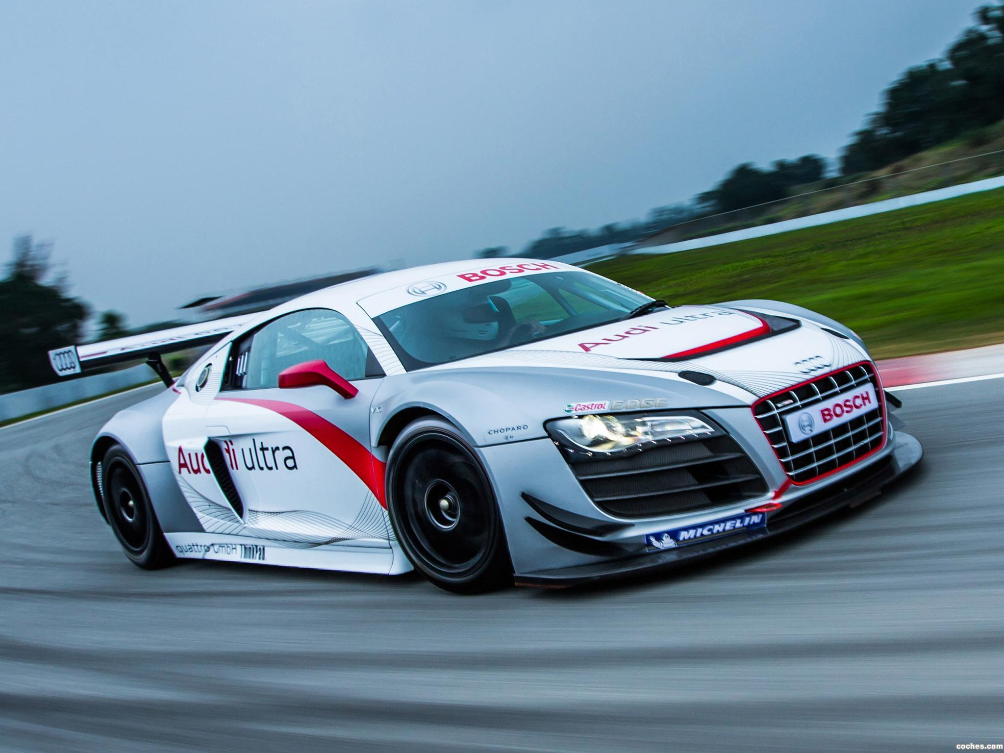 Foto 2 de Audi R8 Ultra GT3 2013