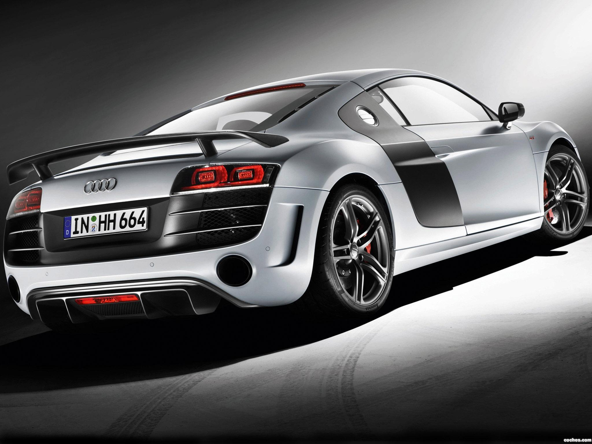 Foto 1 de Audi R8 V10 GT 2010