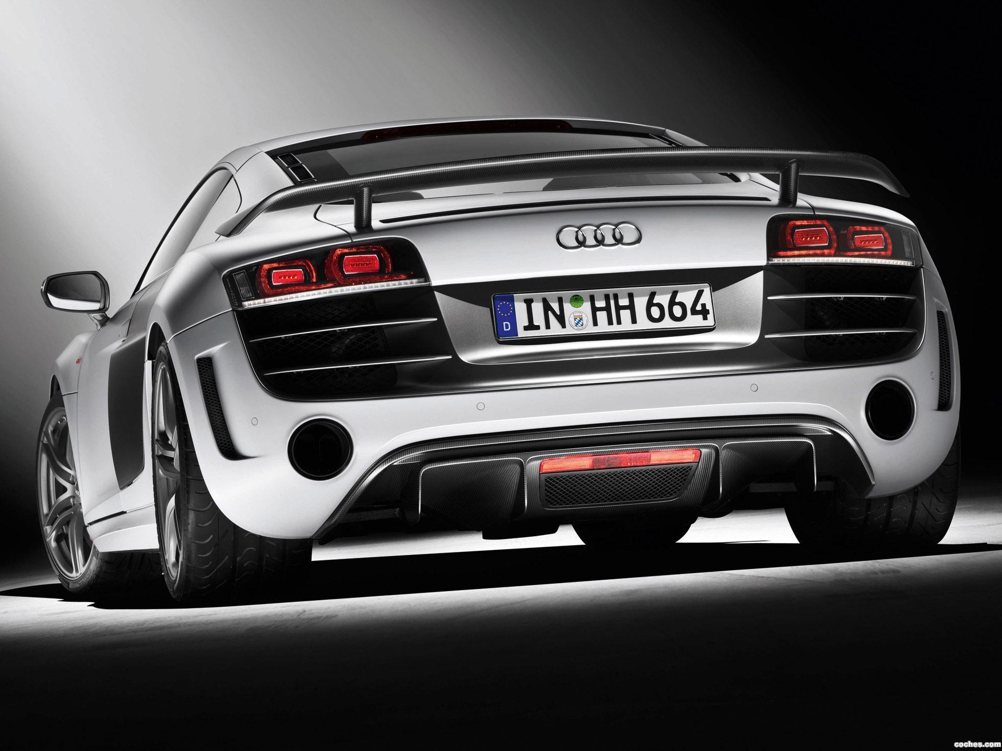 Foto 9 de Audi R8 V10 GT 2010