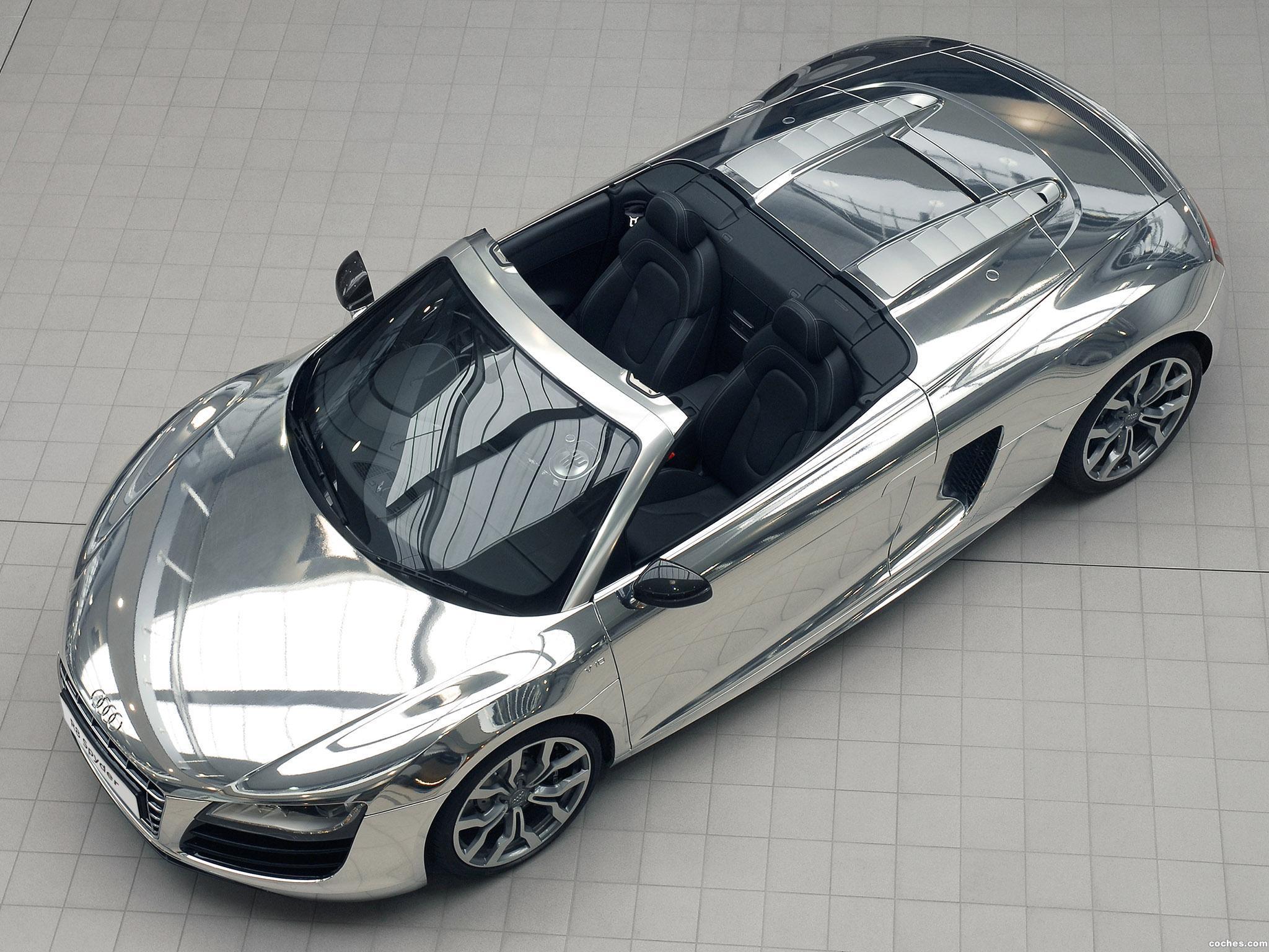 Foto 0 de Audi R8 V10 Spyder Chrome 2011