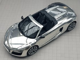 Fotos de Audi R8 V10 Spyder Chrome 2011