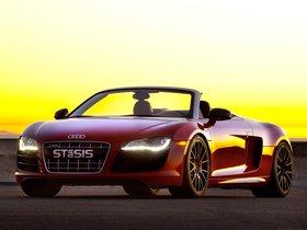 Ver foto 2 de Audi R8 V10 Spyder STaSIS Supercharged Challenge Extreme 2011