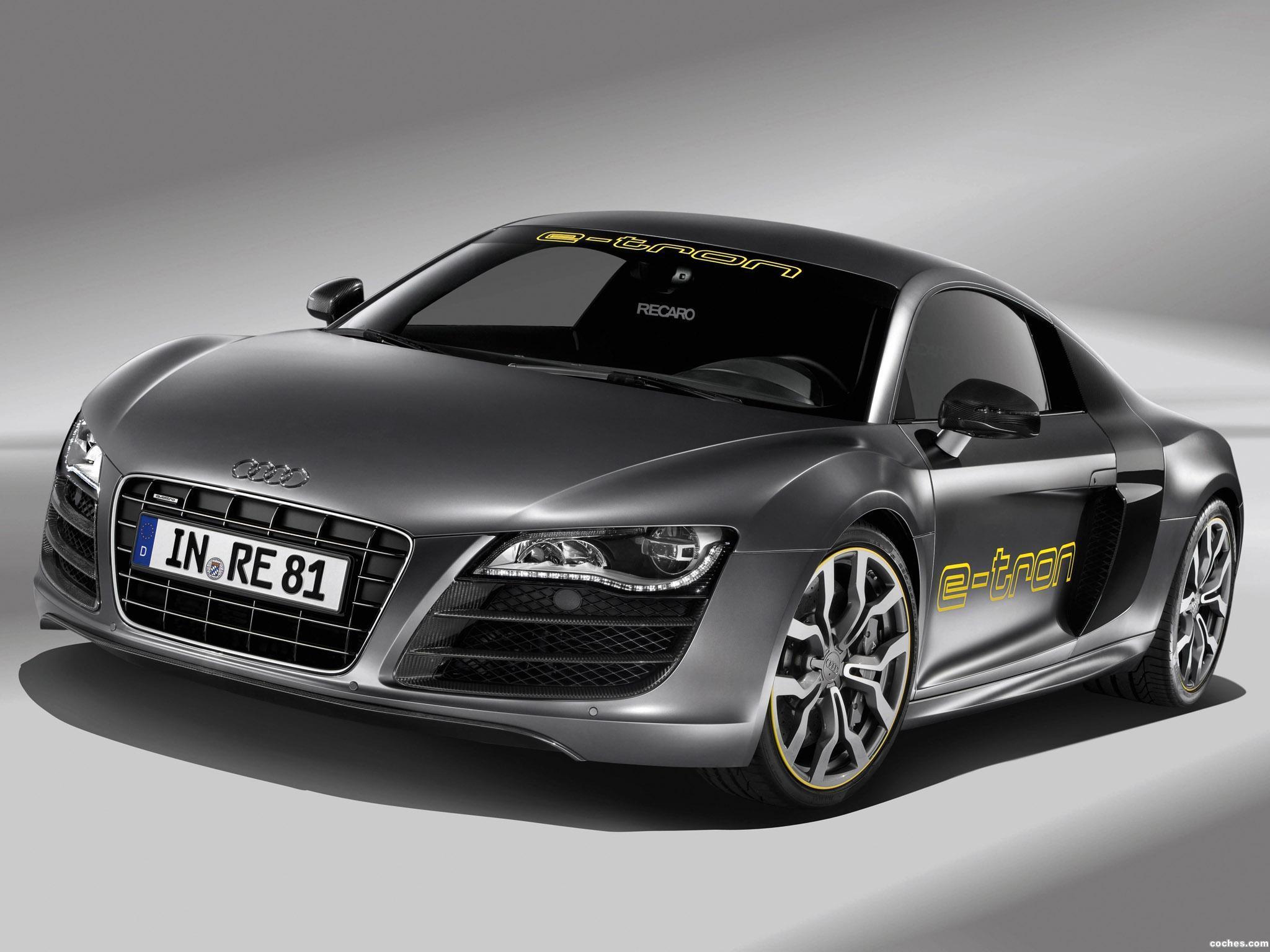 Foto 0 de Audi R8 e-Tron Prototype 2010