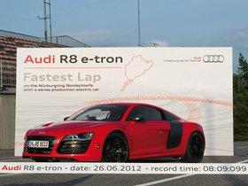 Ver foto 5 de Audi R8 e-Tron Prototype 2012
