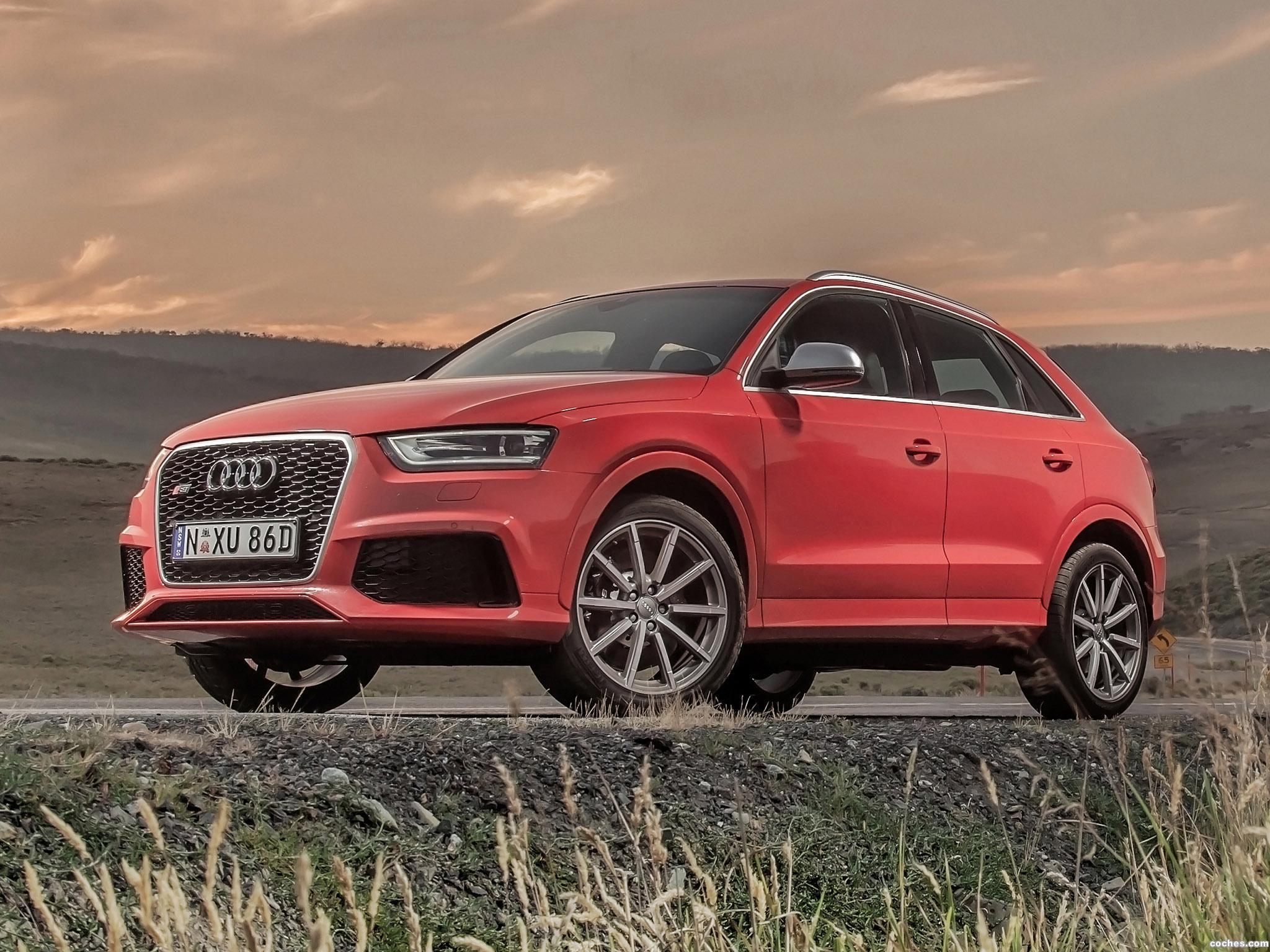Foto 0 de Audi audi RS Q3 Australia 2014