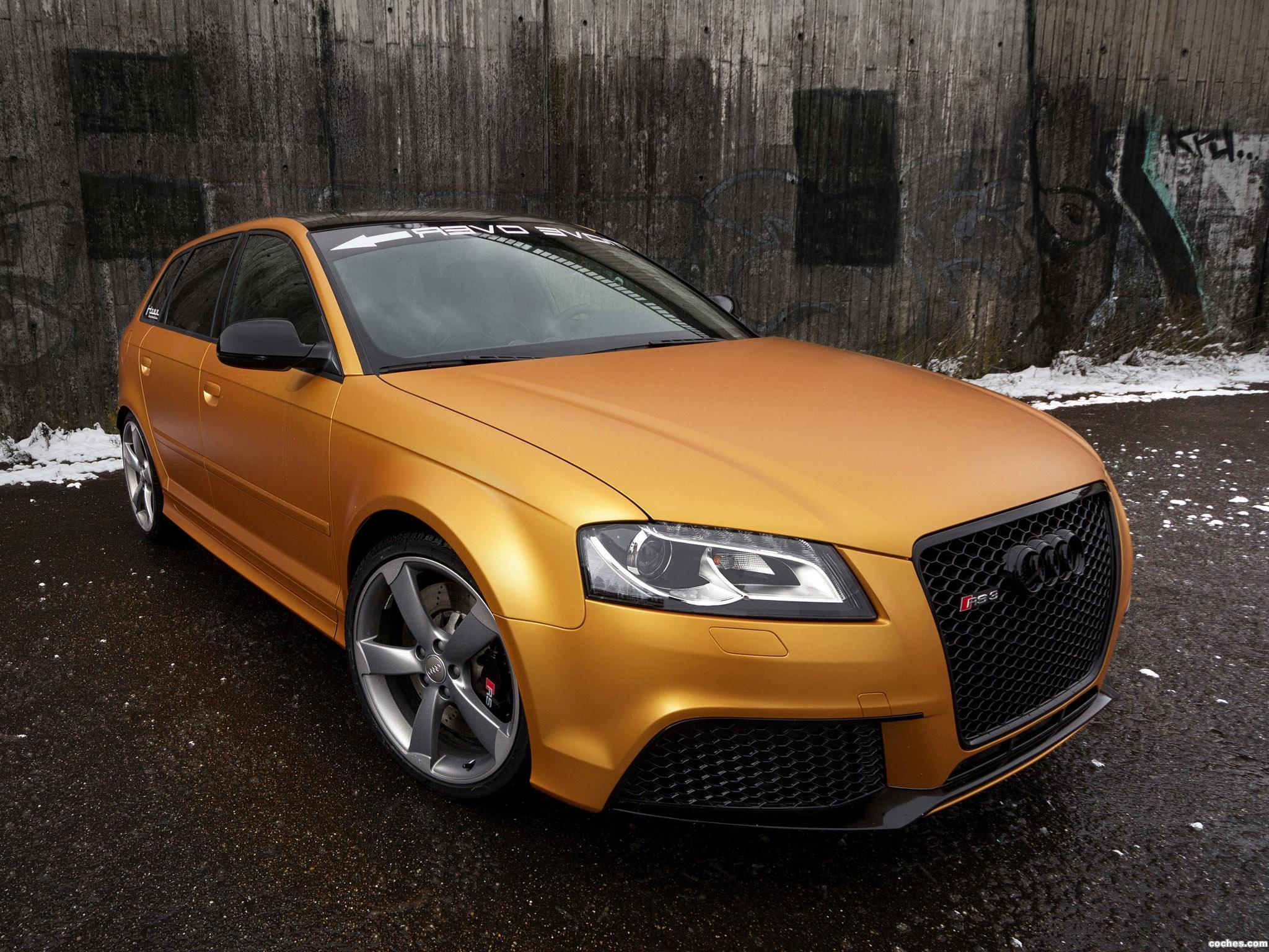 Foto 0 de Audi RS3 Sportback Gold Orange by Schwabenfolia 2013