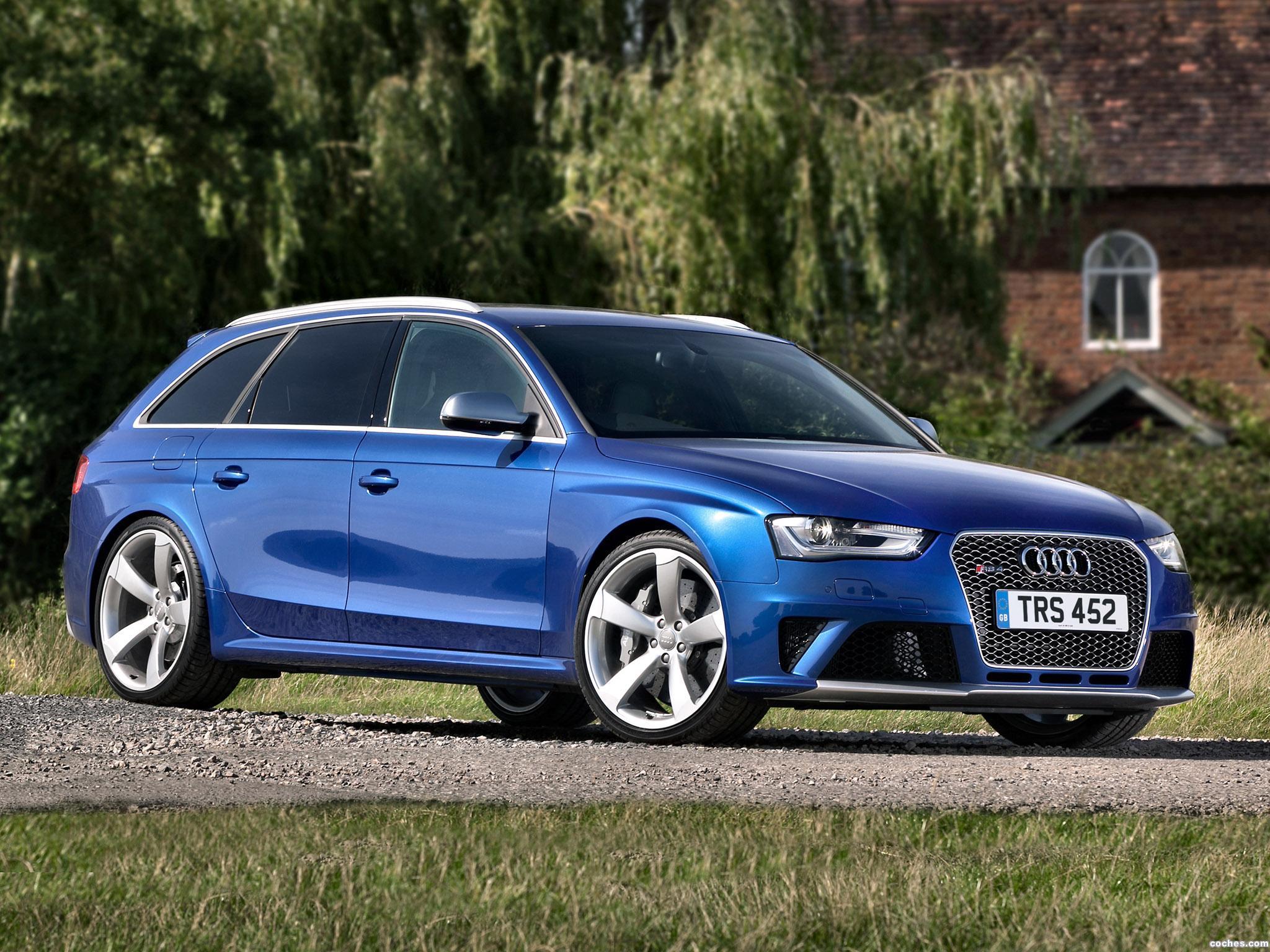 Foto 0 de Audi RS4 Avant UK 2013